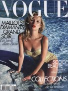 Кейт Мосс в журнале Vogue Paris (июль 2010)