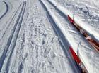Открытые городские соревнования по горнолыжному слалому прошли в Ставрополе