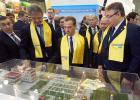 Дмитрий Медведев посетил стенд Ставрополья наагропромышленной выставке «Золотая осень»