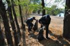 Более 2 тонн мусора собрали с берегов Новотроицкого водохранилища
