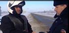 Ставропольские автоинспекторы оказали помощь французскому байкеру
