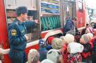 Дошкольники Ставрополя посетили пожарную часть