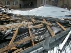 Сильным ветром сорвало крышу с Дома культуры ещё в одном ставропольском селе