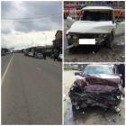 На Ставрополье столкнулись три автомобиля, погибших нет
