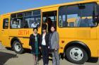 Дляшкольников Новоалександровского района приобрели автобусы