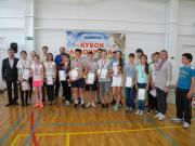 В Левокумском районе прошли краевые соревнования по бадминтону