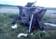 В Изобильненском районе столкнулись две легковушки, один из водителей погиб