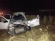В Кочубеевском районе легковушка врезалась в грузовик, погиб один человек