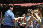 В детском лагере «Лесная поляна» прошёл День пожарной безопасности