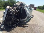Четыре человека пострадали на Ставрополье в ДТП с двумя легковушками и грузовиком
