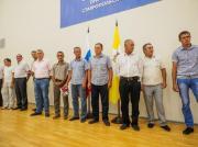 Рабочие, ликвидировавшие аварию в Кочубеевском районе, получили краевые награды