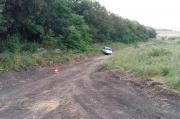В Предгорном районе из автомобиля при движении выпал водитель
