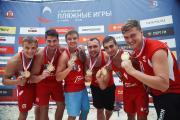 Ставропольские гандболисты выиграли Всероссийские пляжные игры