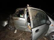 На Ставрополье перевернулся автомобиль: пострадали маленькие дети