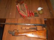 В Петровском районе мужчина добровольно сдал оружие сотрудникам полиции